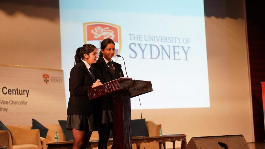 university of sydney - visit of vc